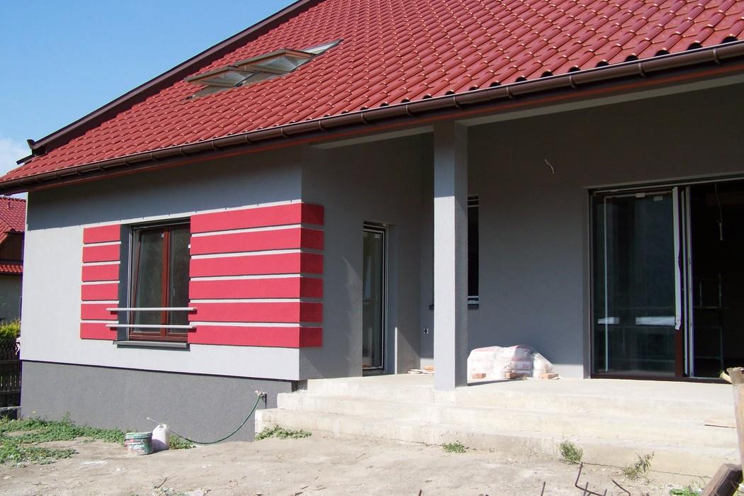 Blog Silbud Jaka Elewacja Do Czerwonego Dachu